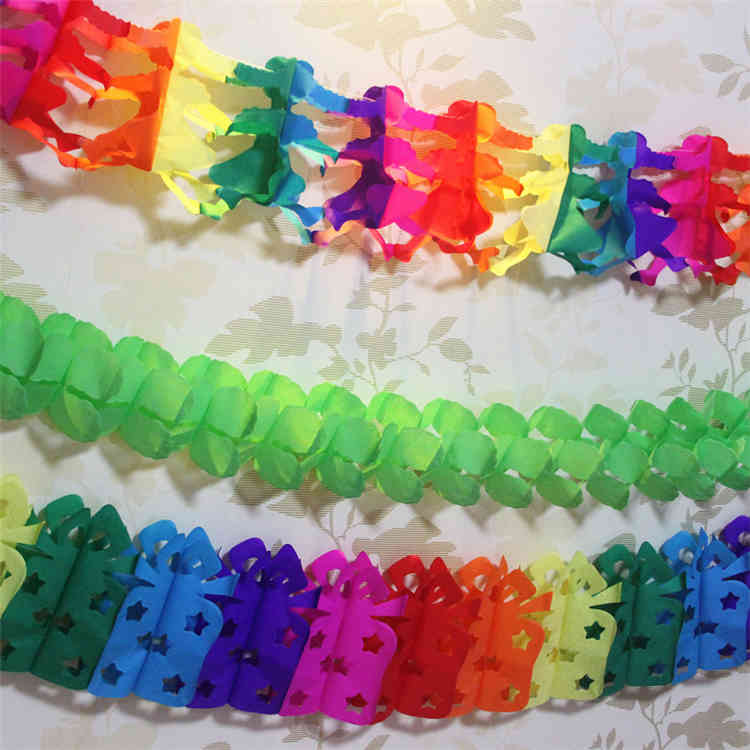 Paper Garland For Party Decoration