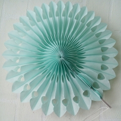 wedding fans for paper decorations