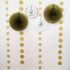 Gold Series Paper Decoration