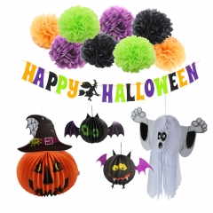 Happy Halloween Banner Halloween Party Decorations